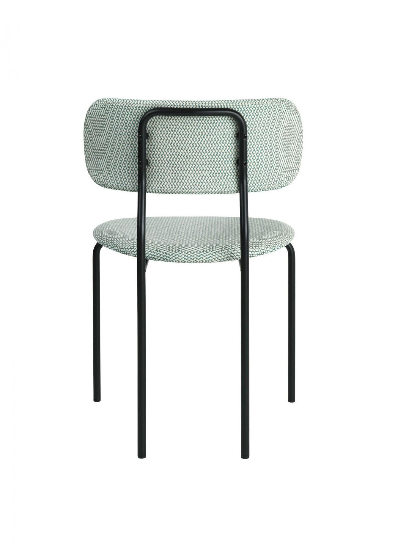 Achterkant Coco chair, OEO design, Gubi collectie