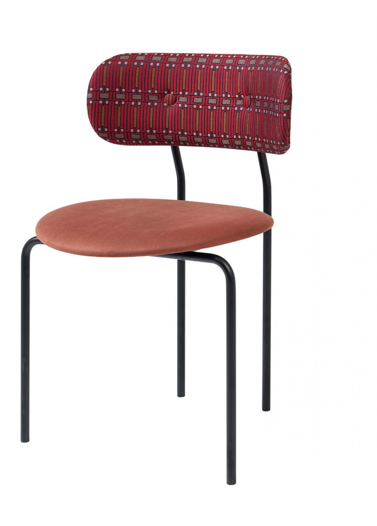 Coco Dining Chair in stof Alcantara 407
