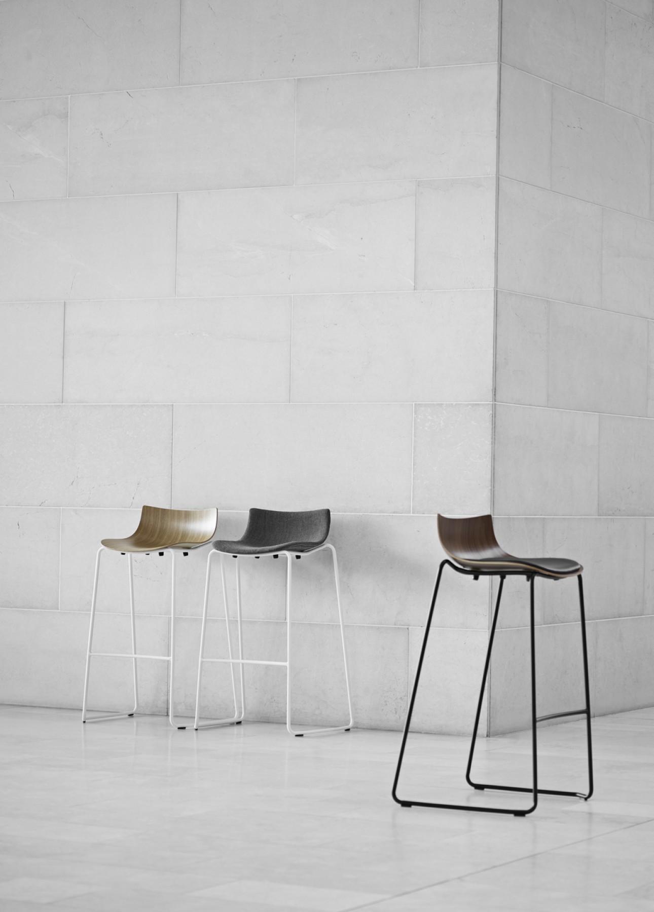 Preludia barstoel, project collectie Carl Hansen & Son