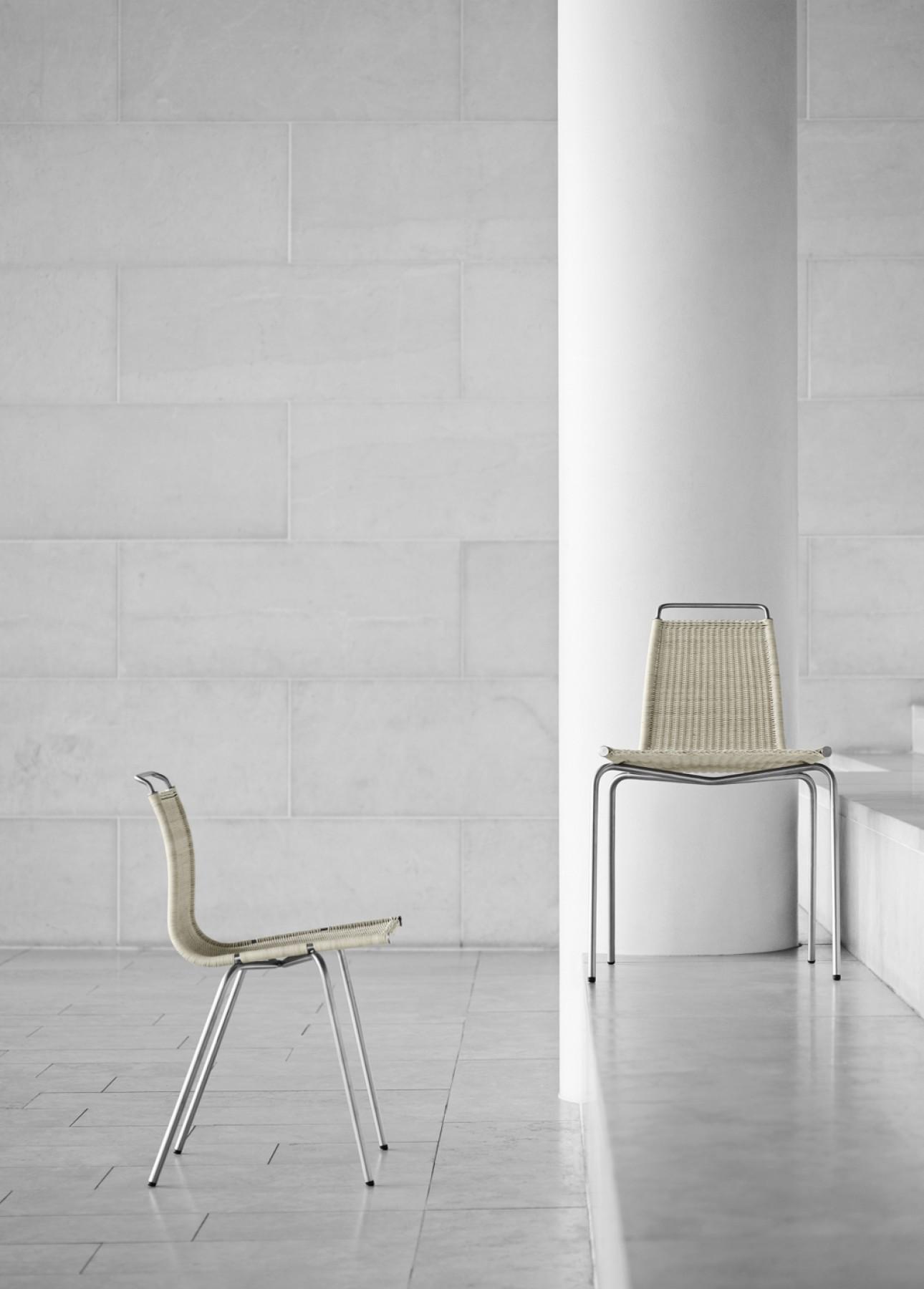 Wicker Chair PK01 Poul Kjaerholm, design 1955