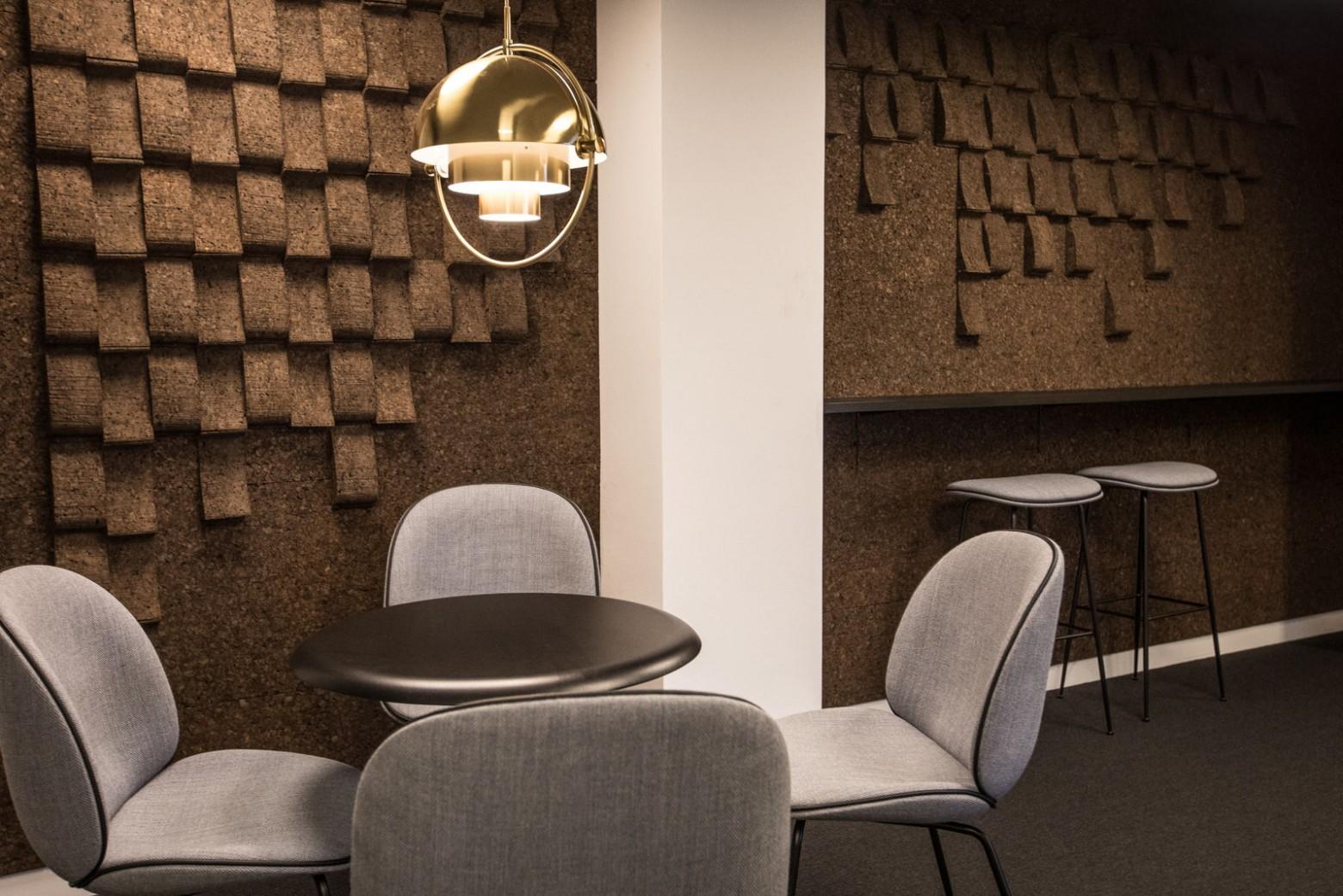 MultiLite Brass, Louis Weisdorf design, project CSIS, Copenhagen  Victors Design Agency
