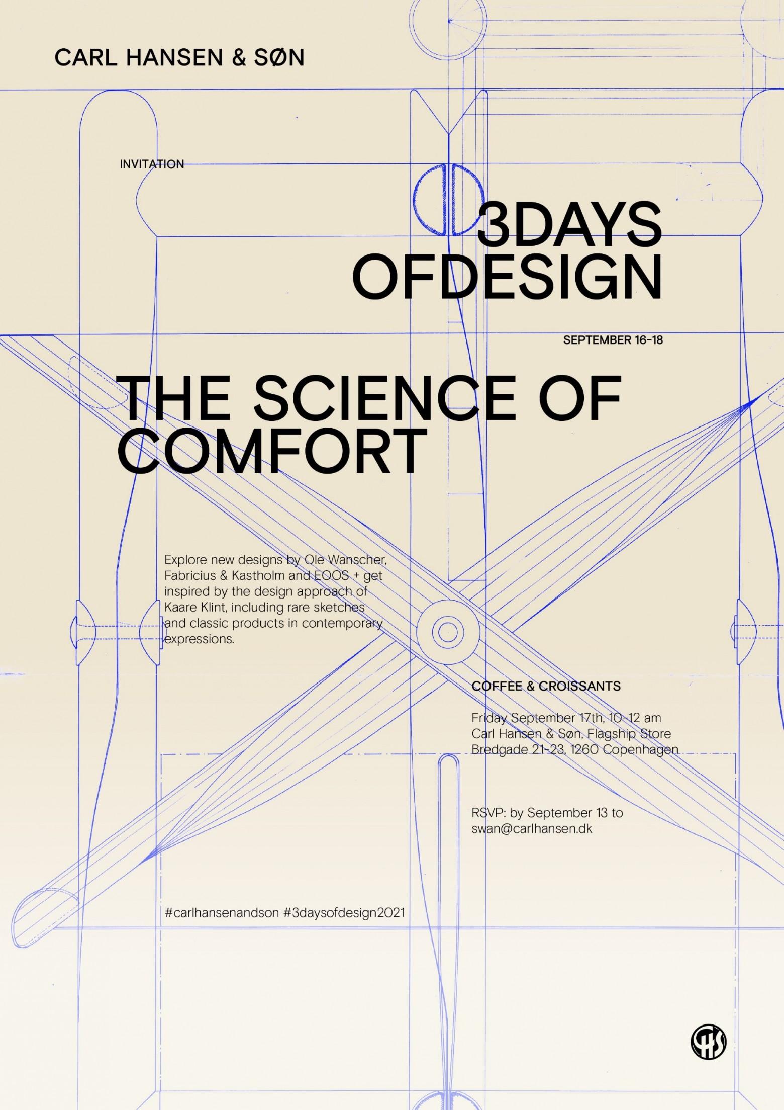 3 Days of Design - Copenhagen - Carl Hansen & Son:  17 September Coffee & Croissants  Victors Design Agency