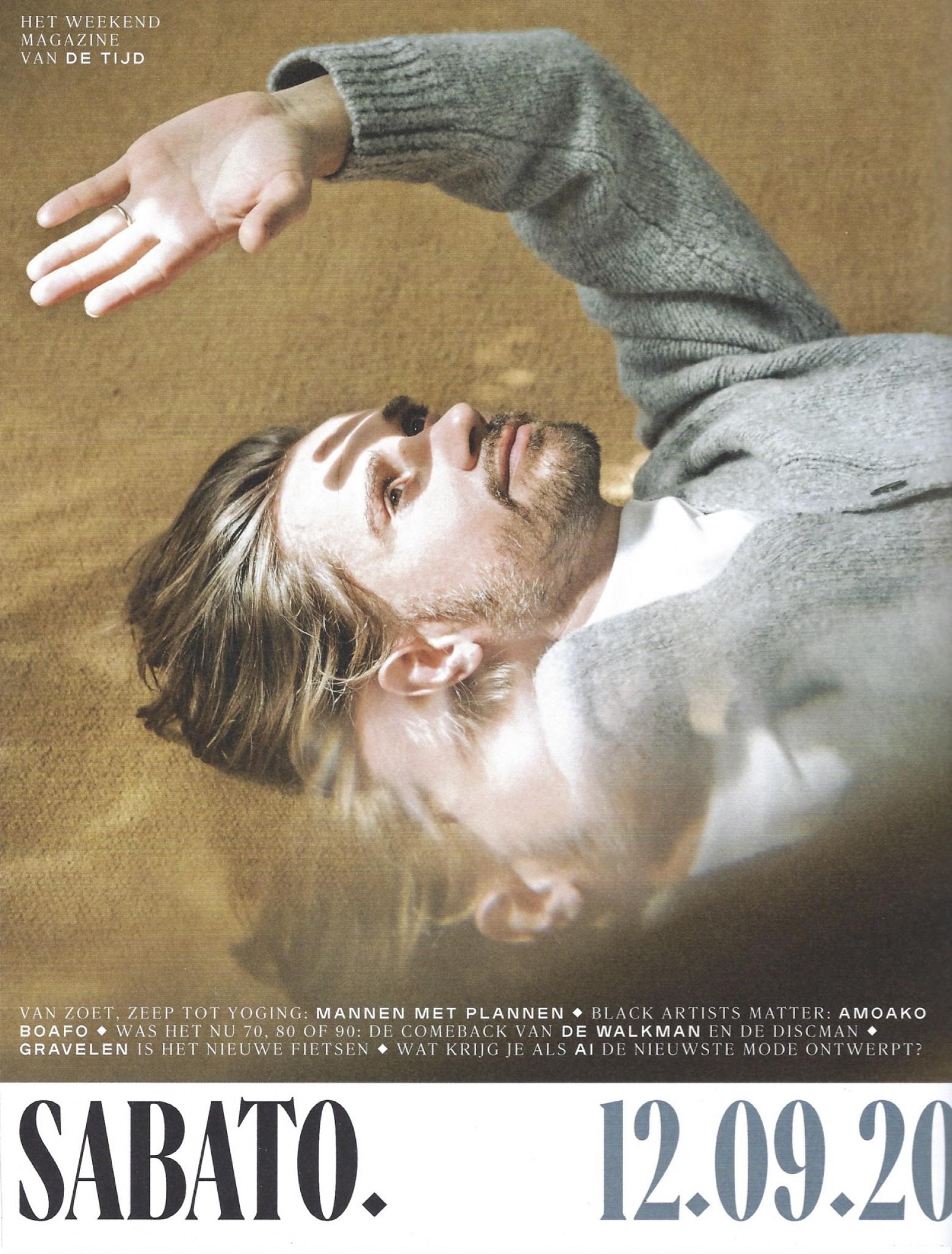 Sabato 12.09.20 cover  Victors Design Agency