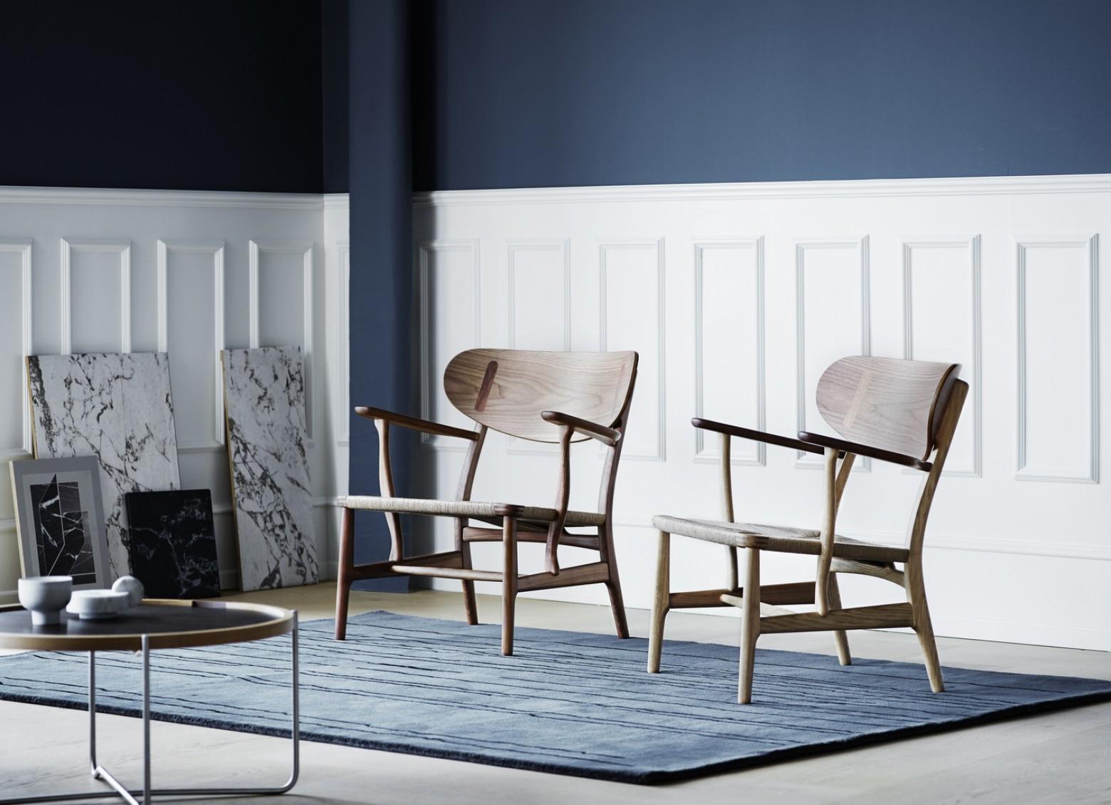 CH22 Lounge chair: iconische ontwerpen uit 1950 van Hans J Wegner  Victors Design Agency