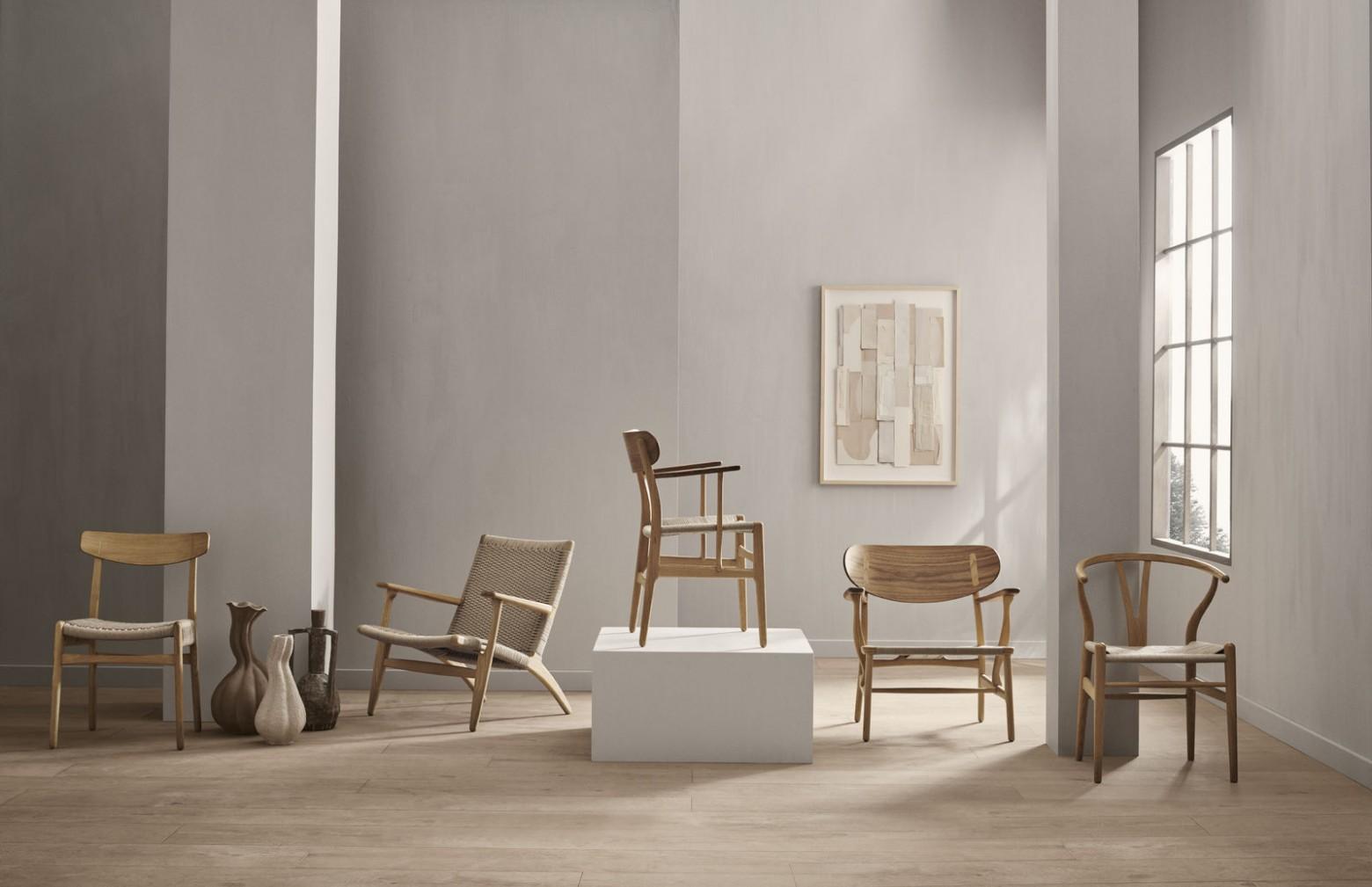 Les 5 chefs-d'œuvre de Hans J Wegner conçus en 1950 - Carl Hansen & Son  Victors Design Agency