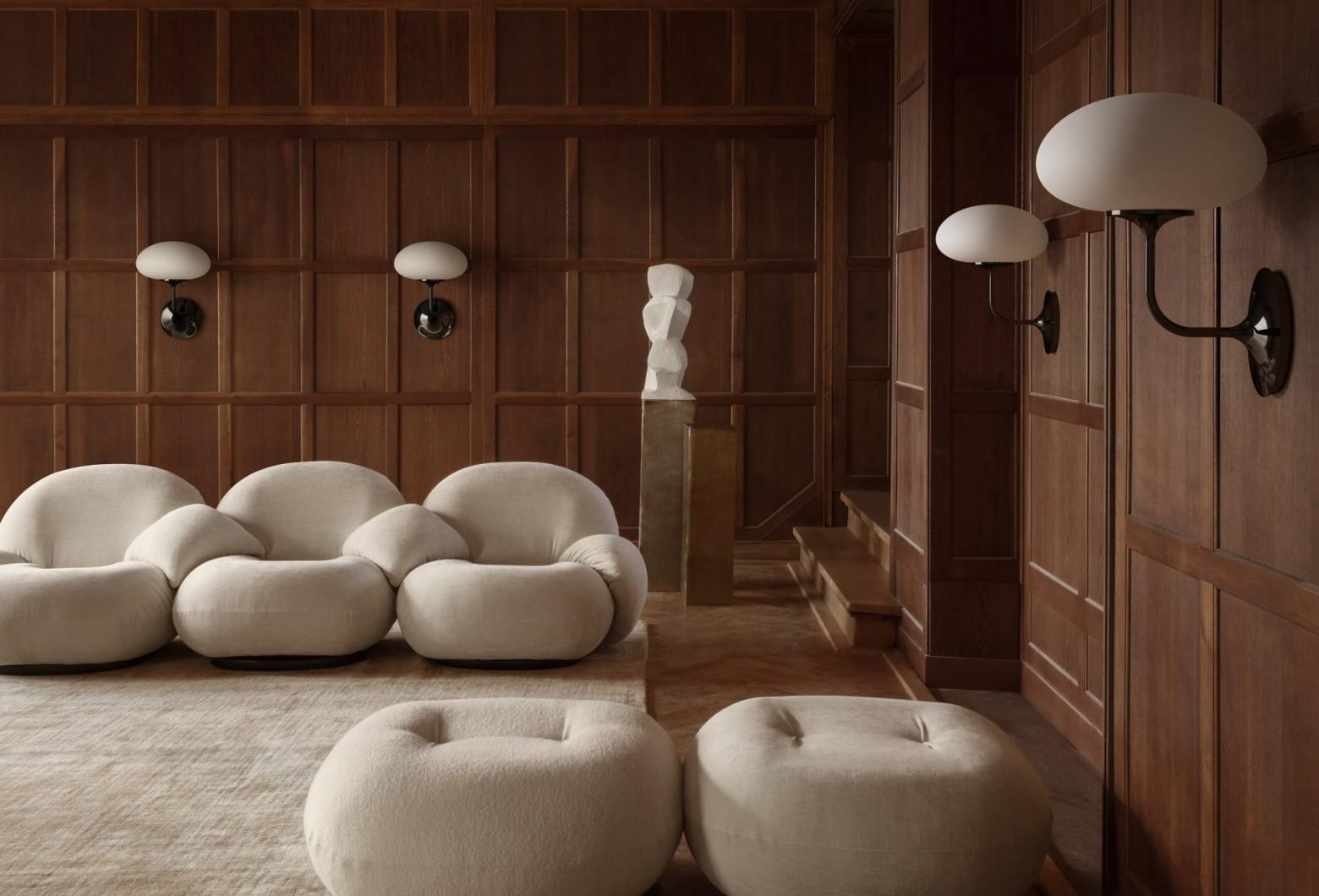 Applique Stemlite en combinaison avec Pacha, Pierre Paulin Victors Design Agency