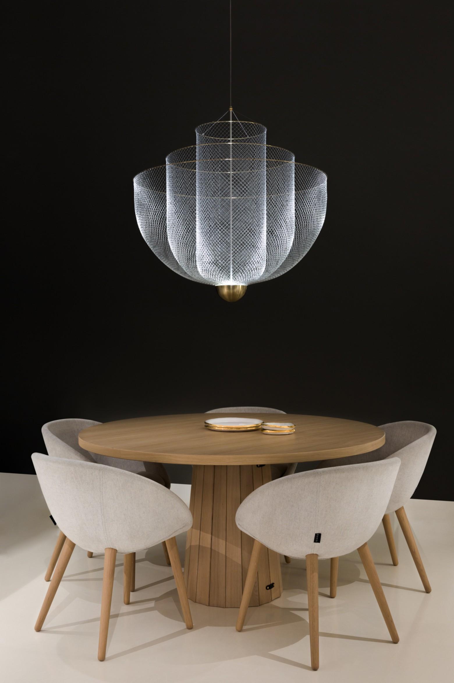 Meshmatics hanglamp nu ook in kleinere versie  Victors Design Agency