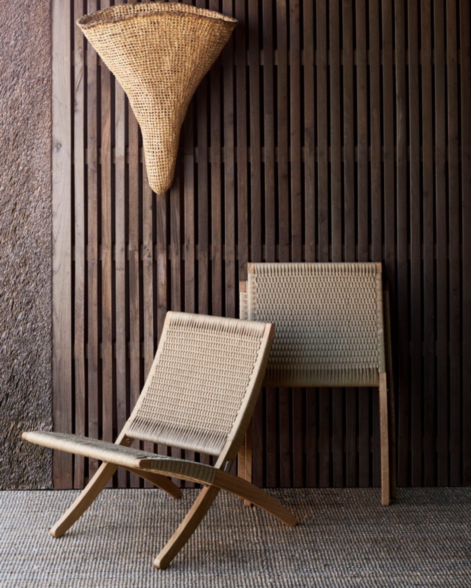 Cuba chair in papercord: NIEUW  Victors Design Agency