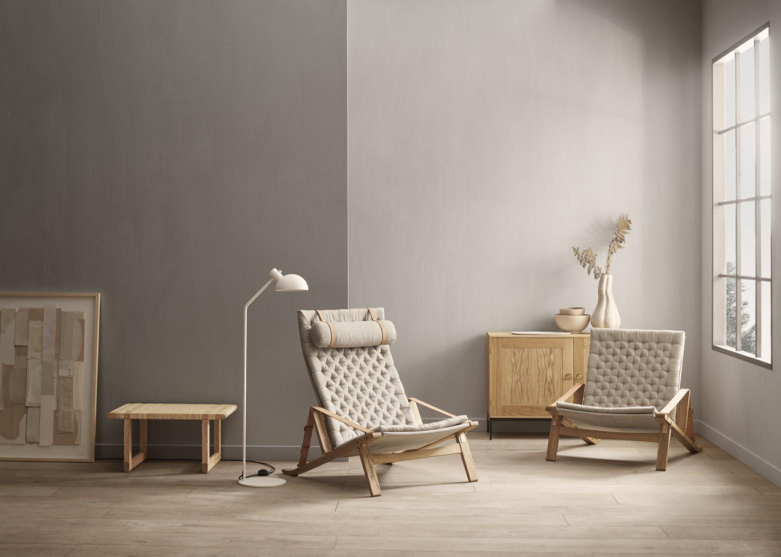 Chaise Plico & Bibliothèque FK : nouveauté chez Carl Hansen & Son Victors Design Agency