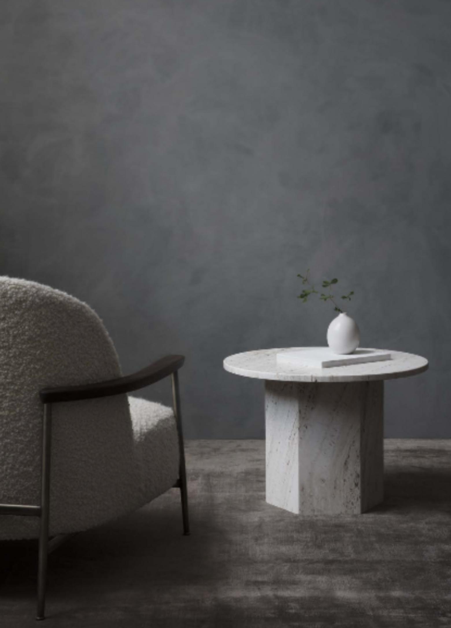 Epic Travertin tafel en Séjour lounge: GamFratesi op zijn best  Victors Design Agency