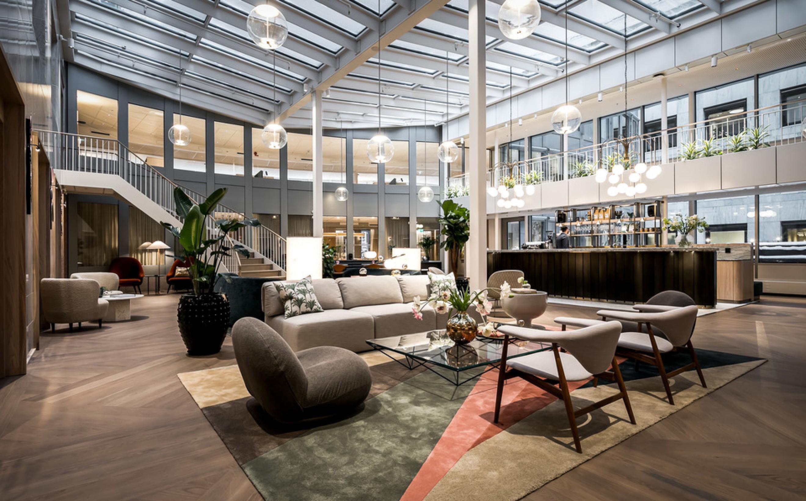 Zitplek met Pacha Lounge  - Wonder Sofa Victors Design Agency