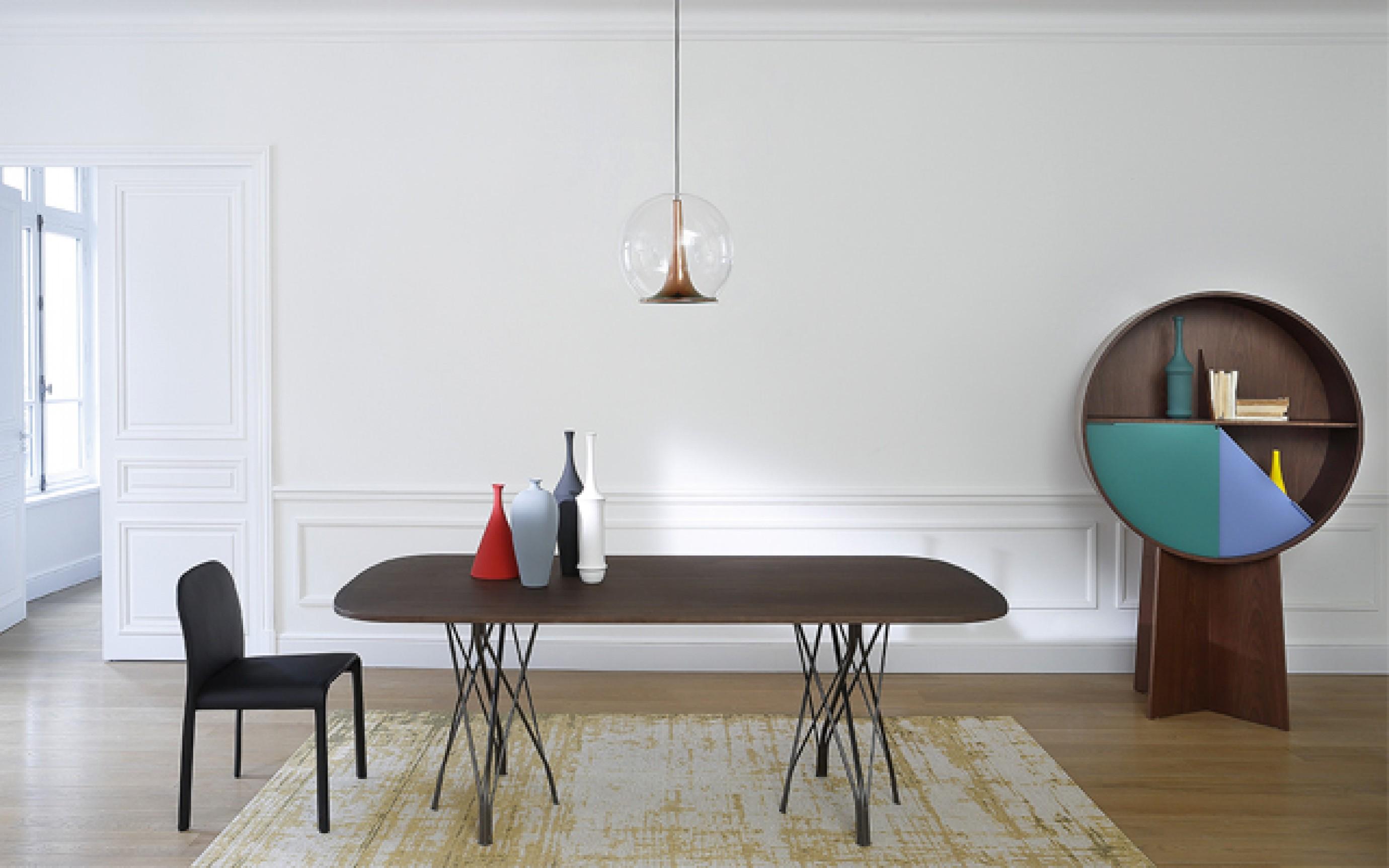 Tafel Grass en stoel Scala van Patrick Jouin voor Coedition  Victors Design Agency