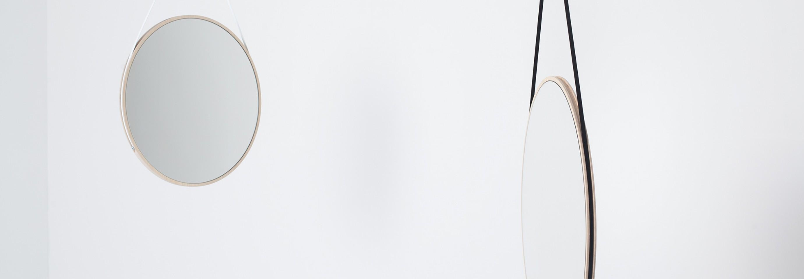 Schneider Mirror Medium - Designer David Spinner Victors Design Agency