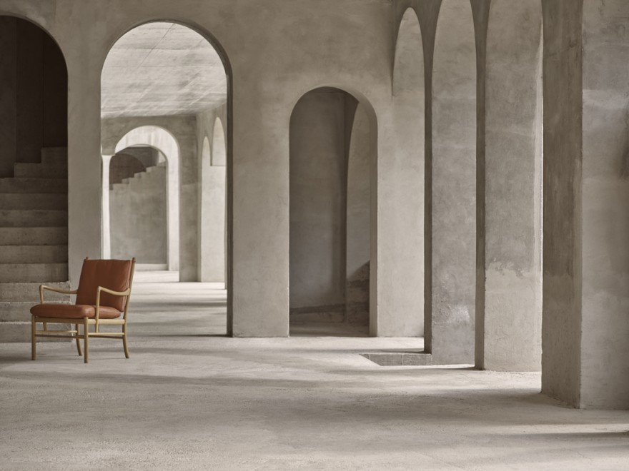 Ole Wanscher Colonial Chair OW149 - ook met bijkomende voetrust te verkrijgen