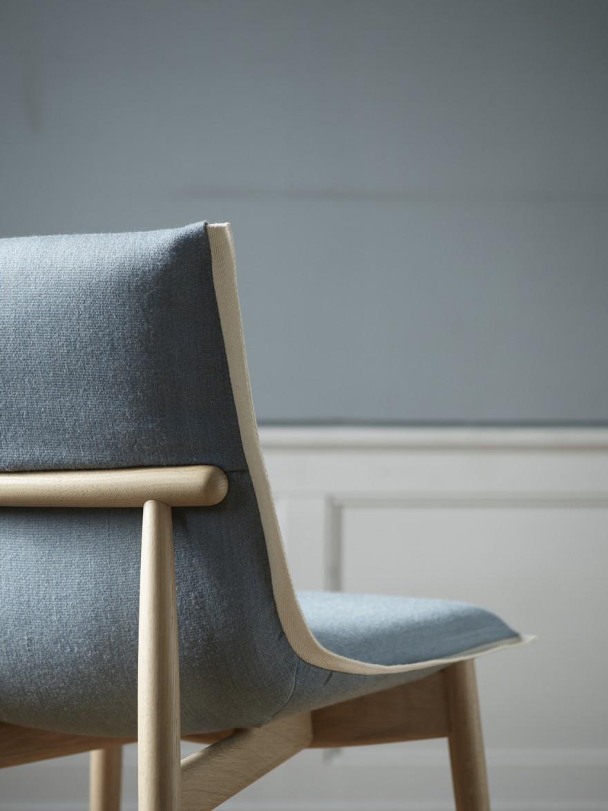 De Embrace Chair bevestigt het DNA van Carl Hansen & Son