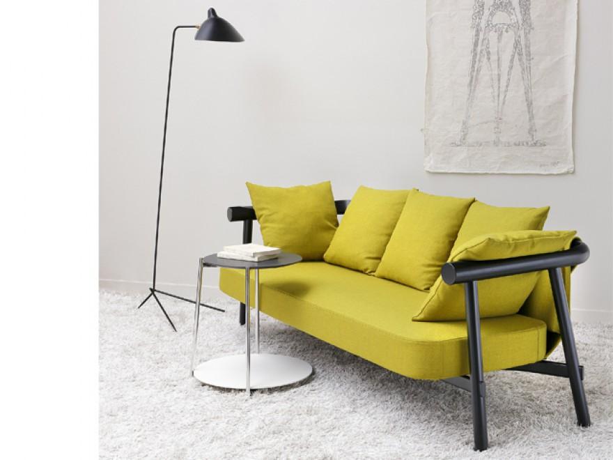 Lit de repos classique et intemporel ALTAY, design Patricia Urquiola, COedition