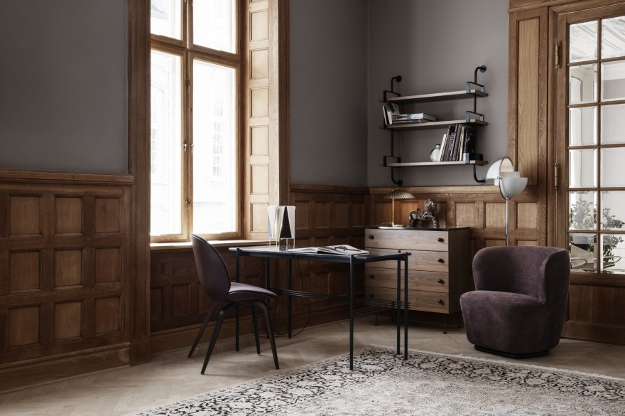 TS Desk, GamFratesi design, Gubi collection