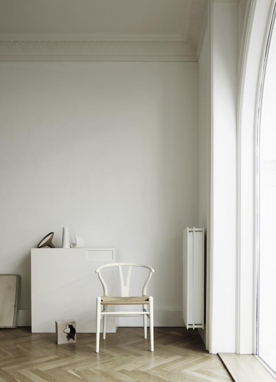 De CH24 in mat (soft) wit: verfrissend
