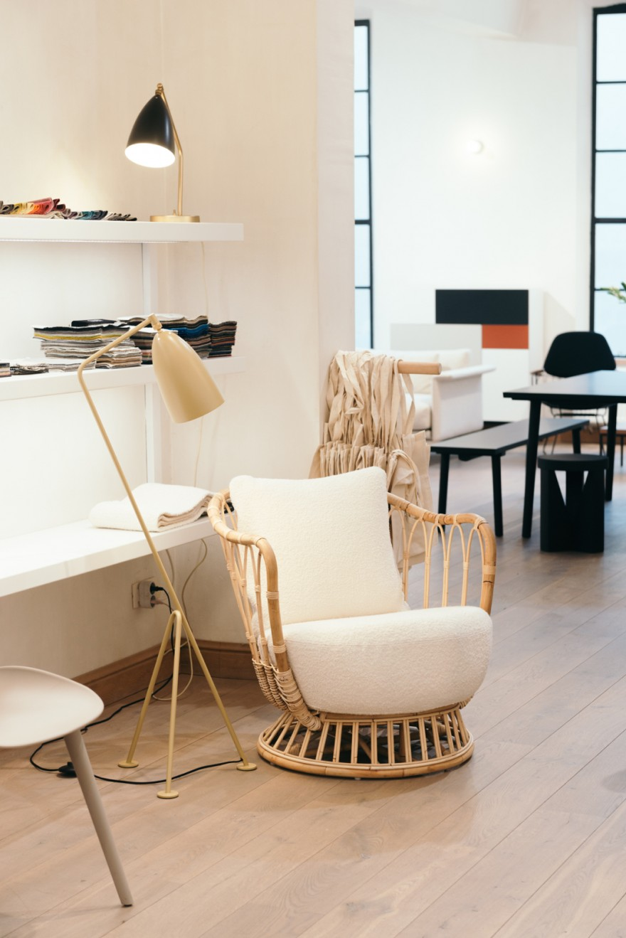 GRACE lounge chair, Grashoppa new color