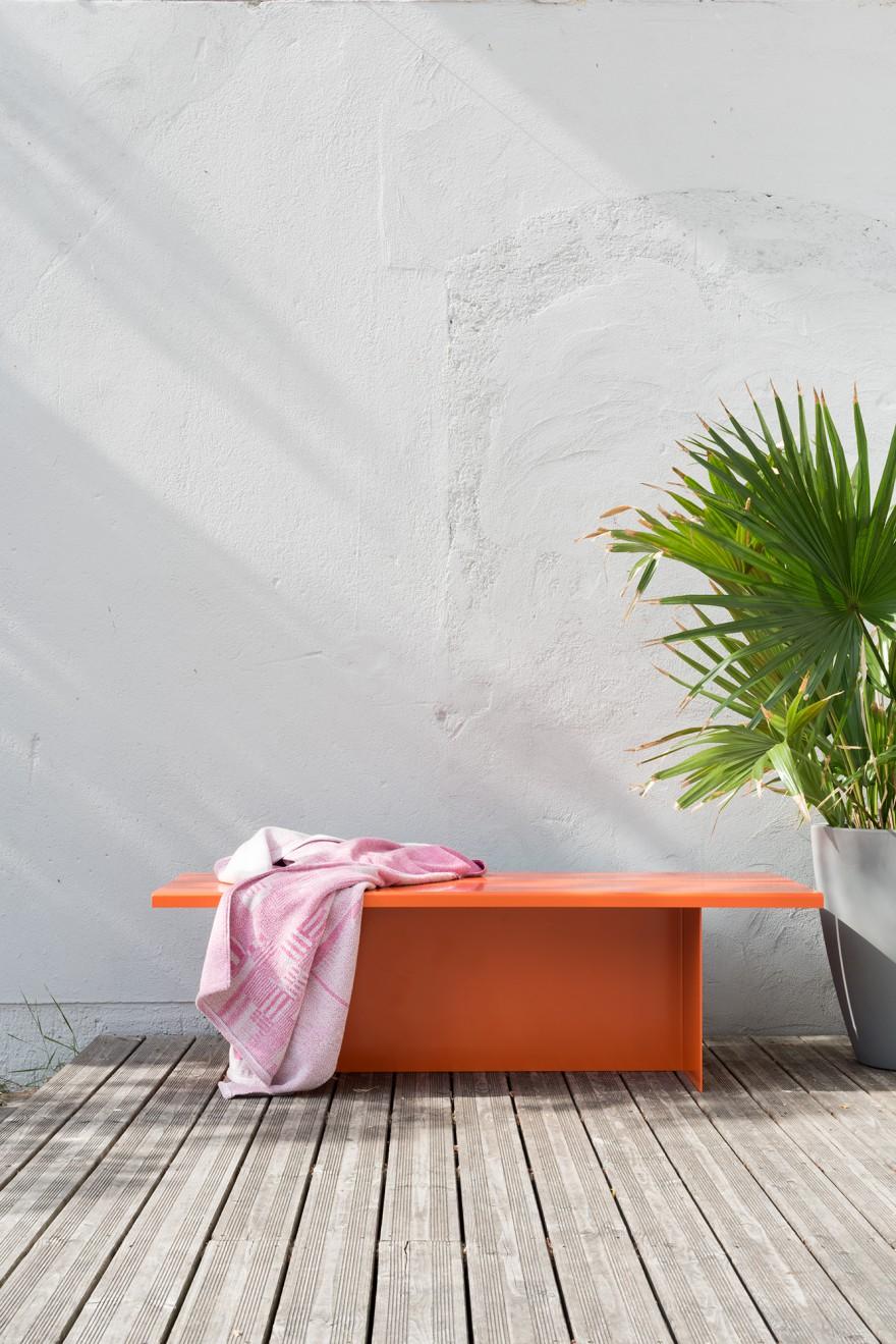 Zebe Bench by Leonie Zebe Victors Design Agency