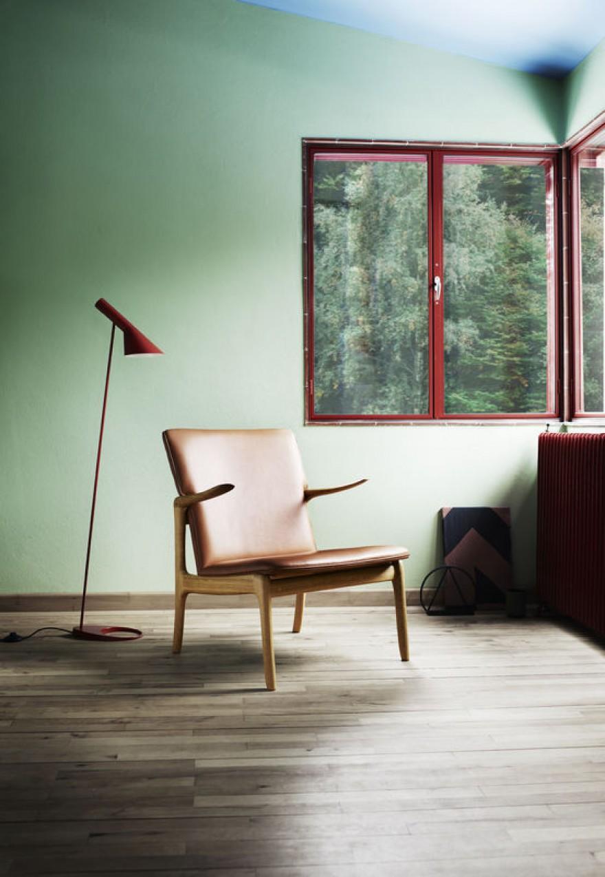 Een ander ontwerp van Ole Wanscher: de Beak Chair OW124
