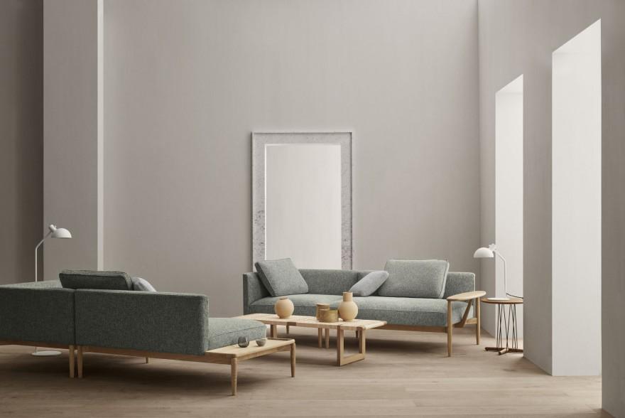 Le sofa Embrace modulaire, Carl Hansen & Son