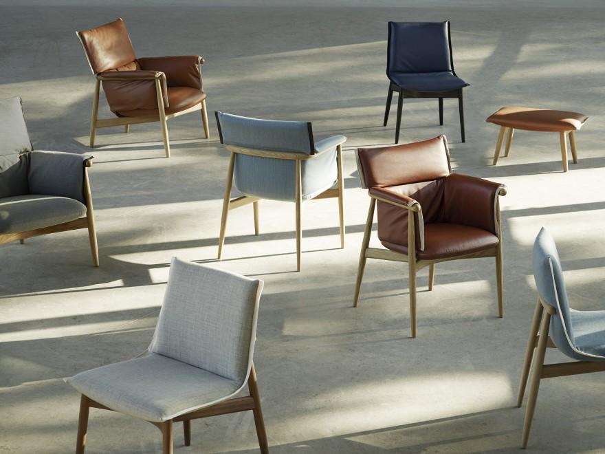 La collection de chaises Embrace, Carl Hansen & Son