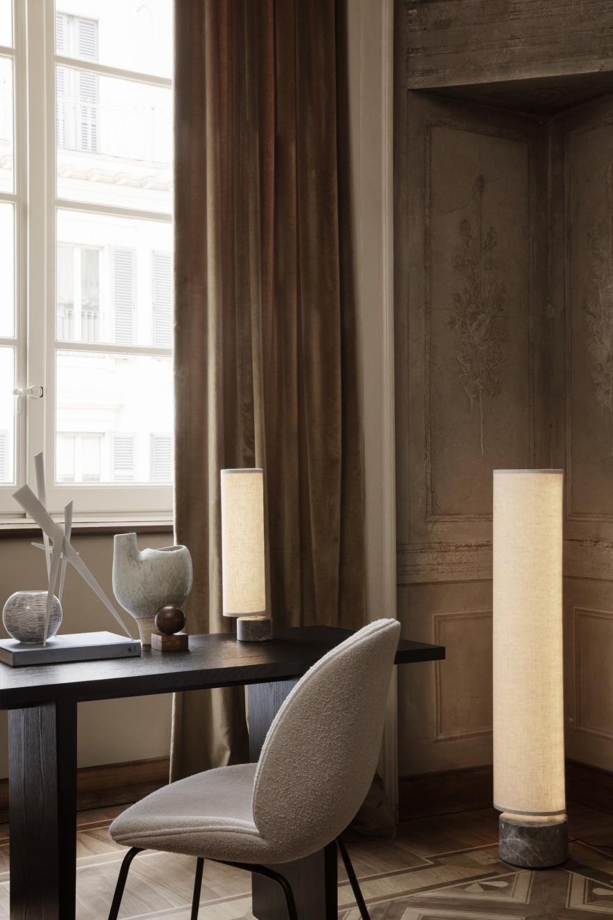 Unbound vloerlamp en bureaulamp : dimbaar