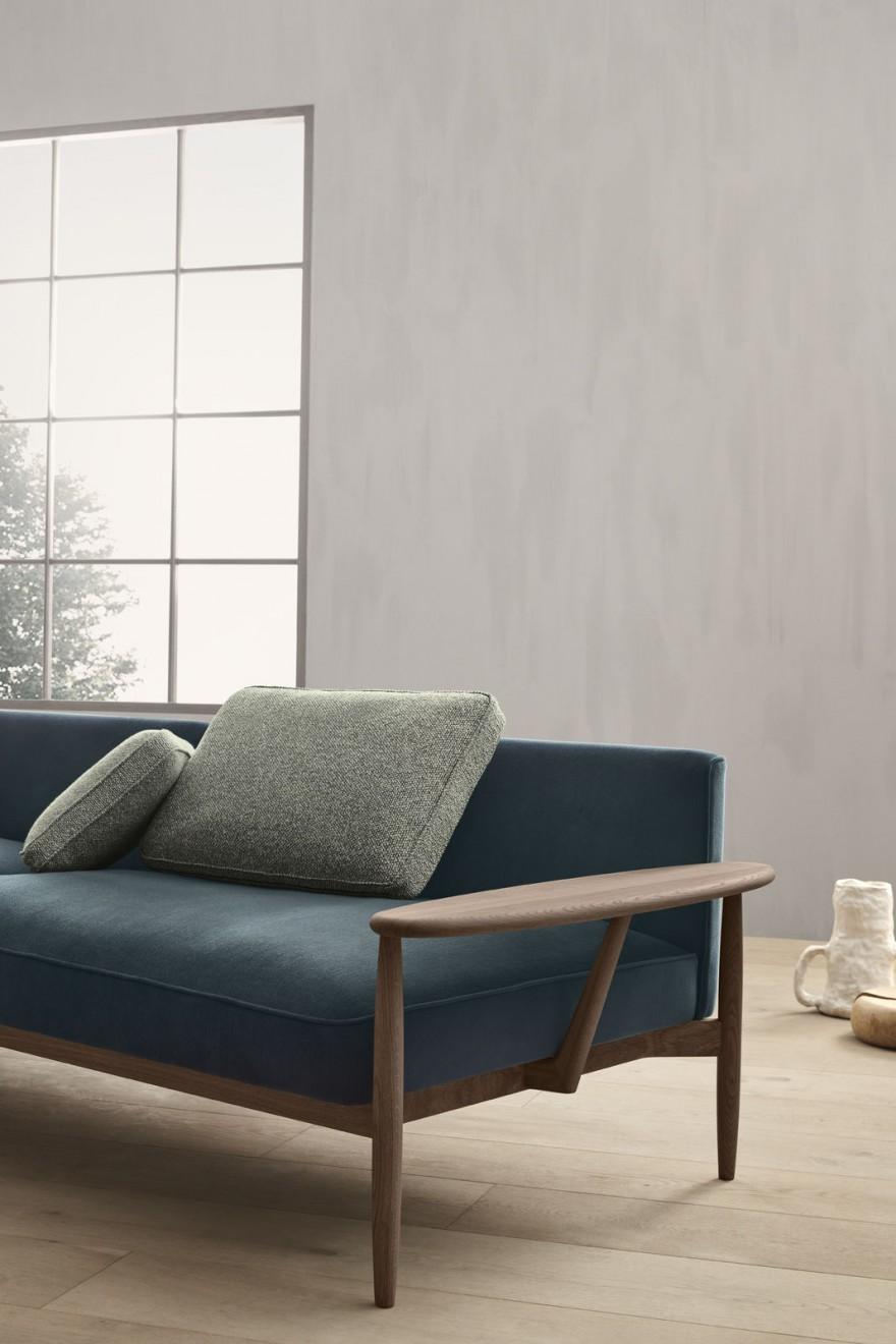 Vakmanschap als fundament bij de creatie van de Embrace sofa