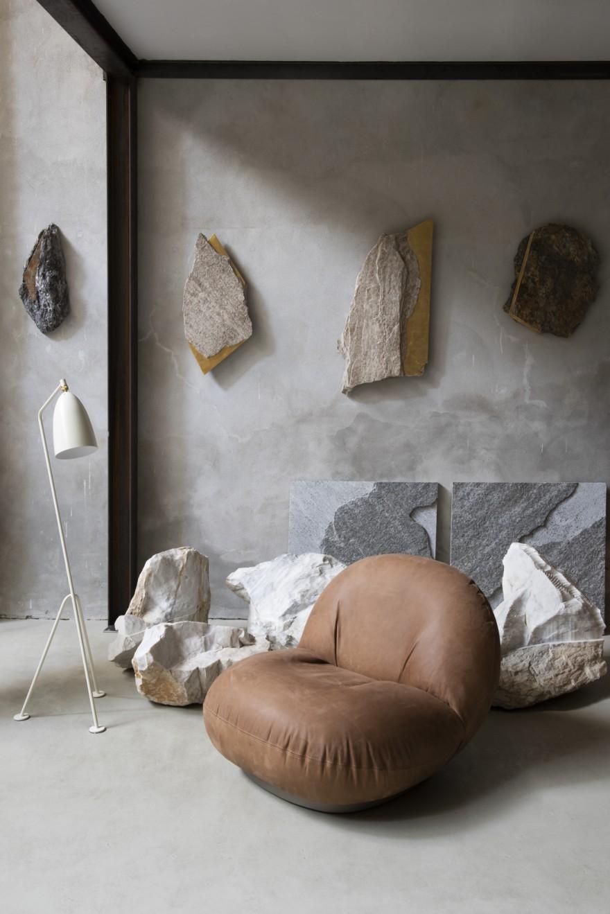 Pacha Lounge chair - Grashoppa Floorlamp