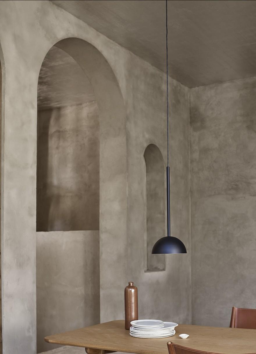 Pure, minimalistische hanglamp, design Mads Odgard