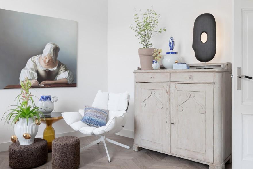 MOOOI design objecten in Delfts blauw