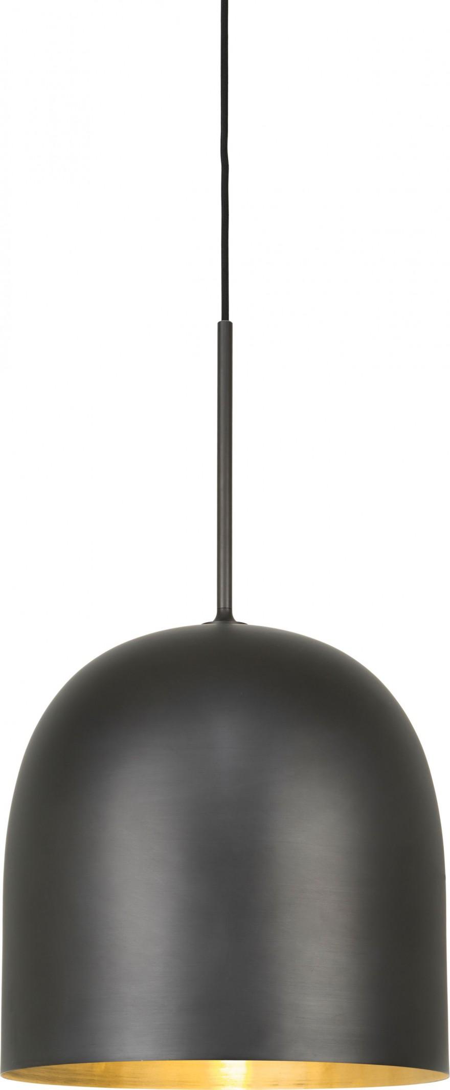 Howard hanglamp met messing binnenkant voor warm licht