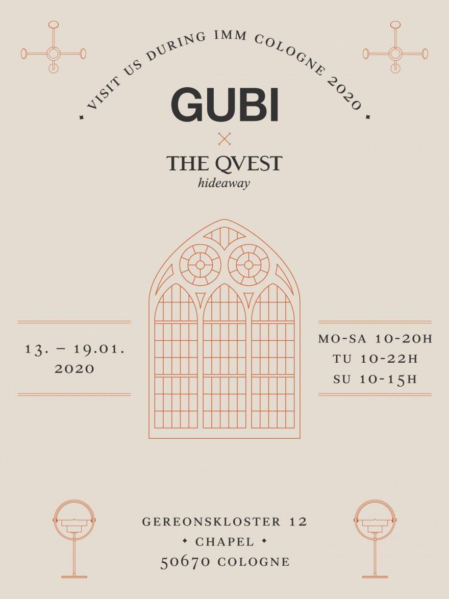 Gubi @ Qvest Chapel Cologne