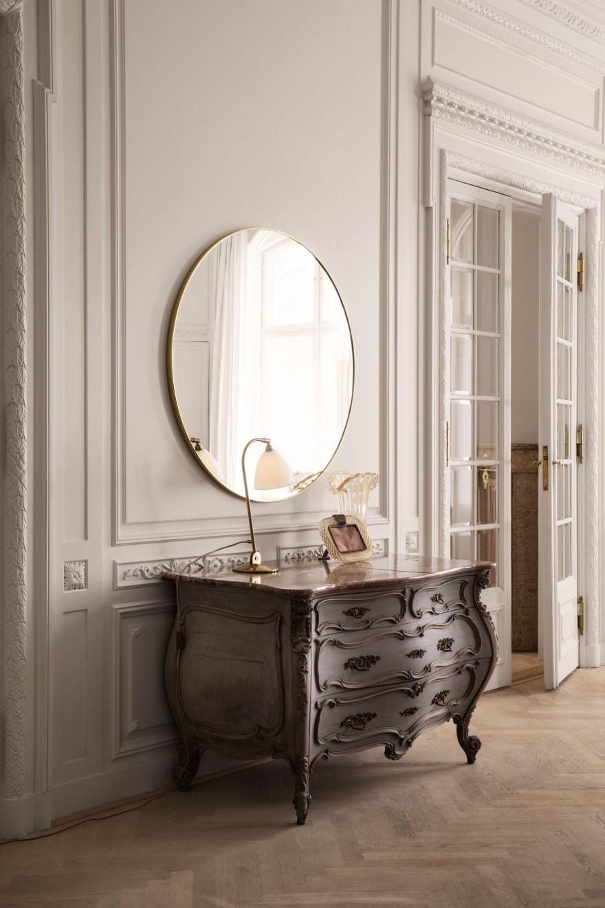 Gubi ronde spiegel diameter 110cm