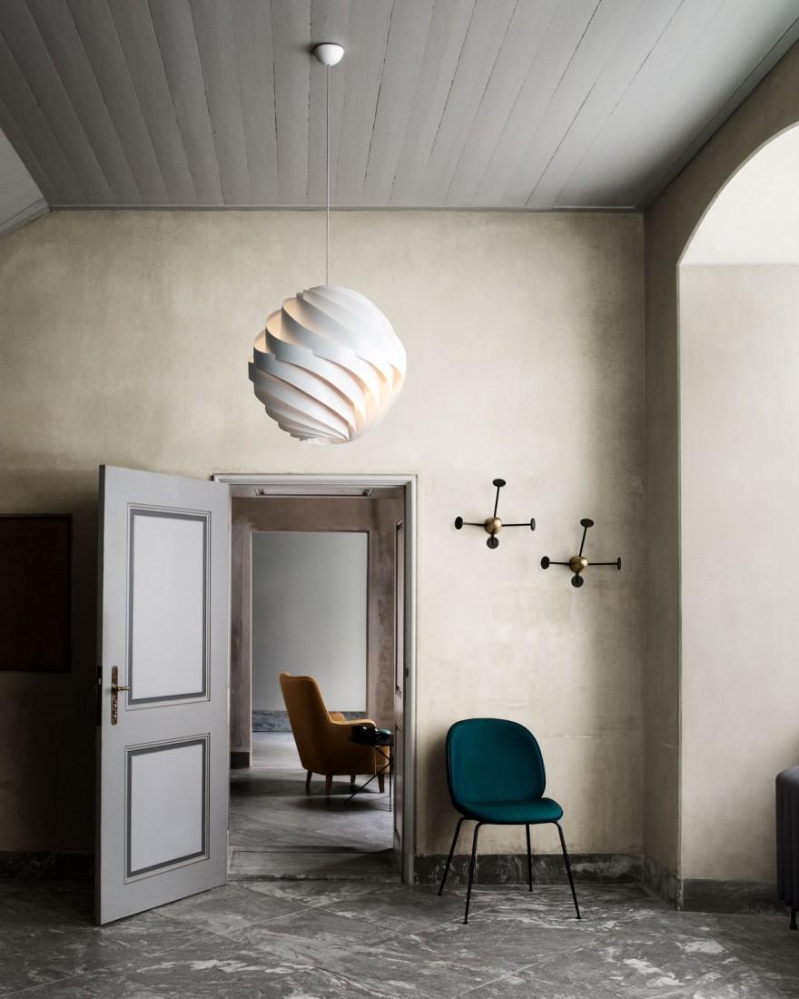 Turbo hanglamp dia 62 cm, design 1965, Louis Weisdorf