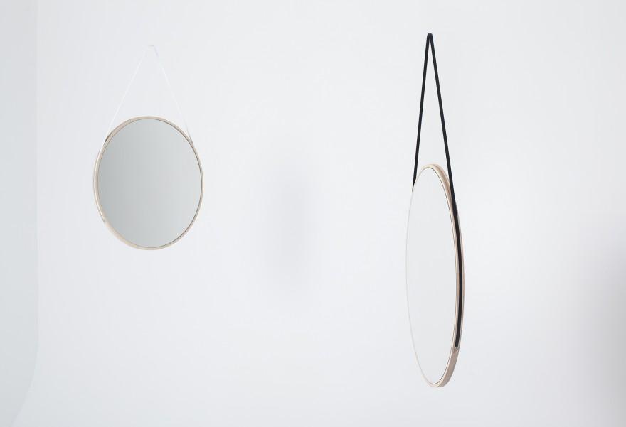Schneider Mirror Medium - Designer David Spinner