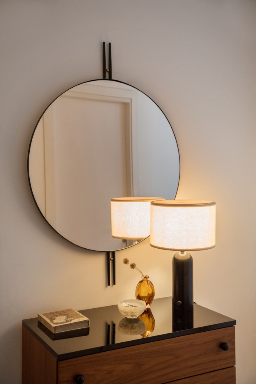 IOI spiegel (GamFratesi design): art deco geïnspireerd