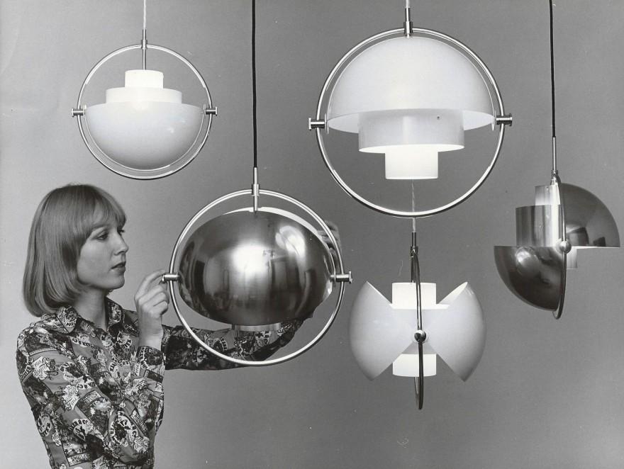La lampe Multi-Lite, design de 1972