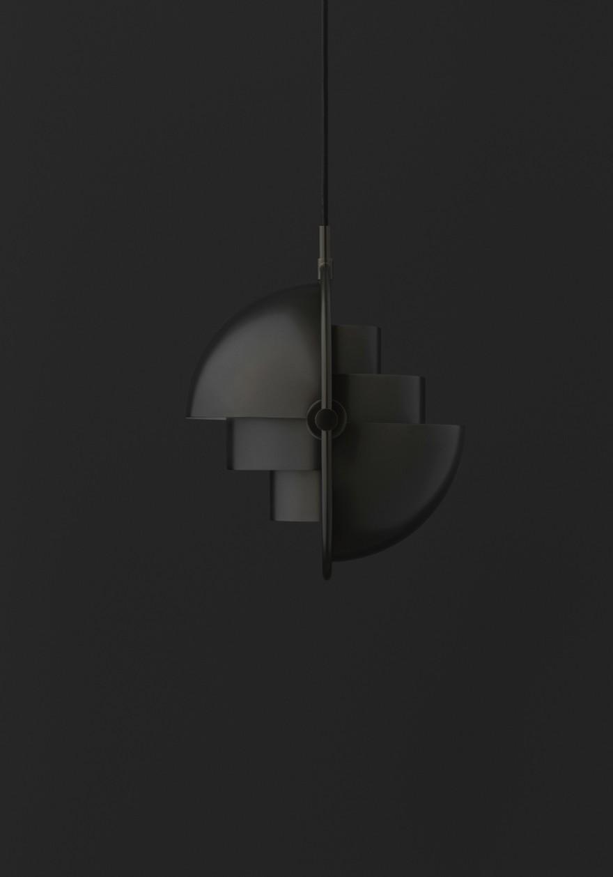 Laiton noir Multi-Lite NOUVEAU