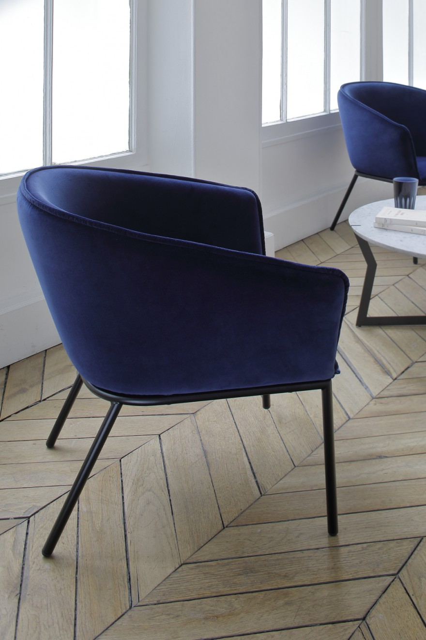 NIEUW: Lucca Nichetto's YOU lounge chair - Raf Simons verloers, Kvadrat