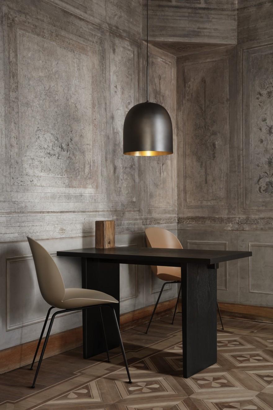 Private Desk & Howard Lamp, Space Copenhagen design, Gubi collection 2021