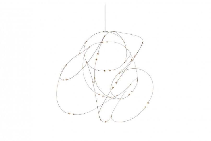 Flock of light (version la plus petite): 11 lumières (595 euros de vente)