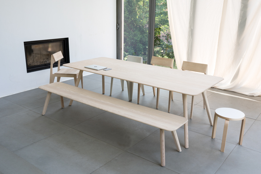 MEYER tafel en zitbank