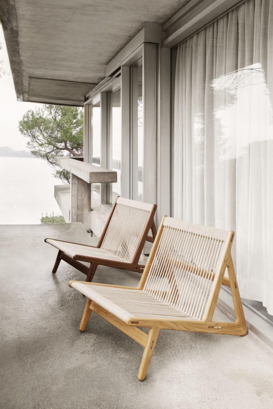 La chaise Initial MR01: simplicité dans la conception et savoir-faire dans la fabrication
