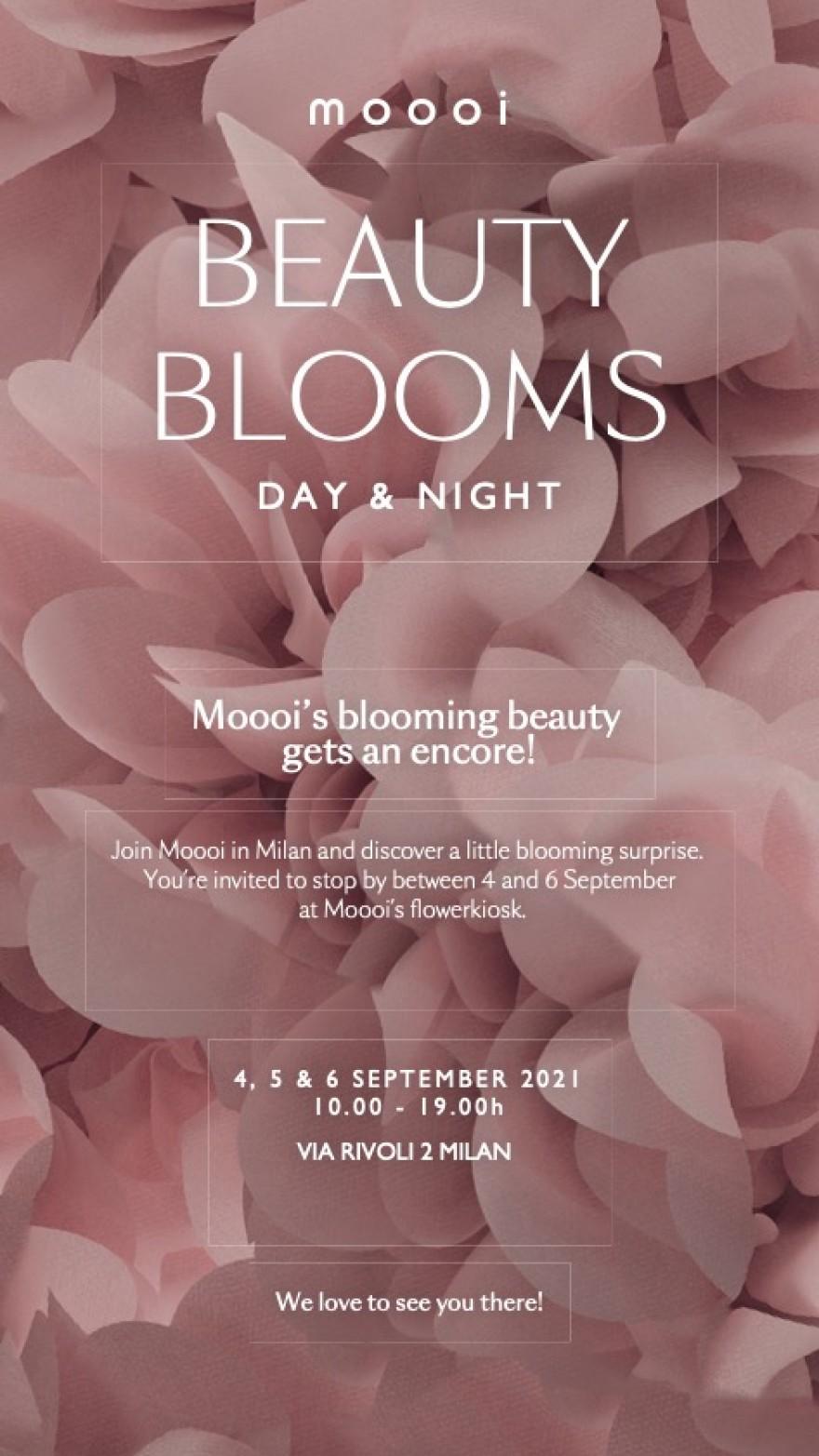 Moooi - 3 Days of Design Milan - 4, 5 & 6 September
