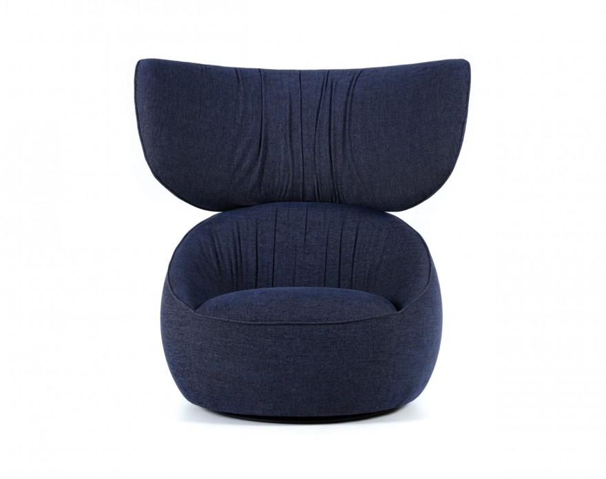 HANA Armchair Wingback met comfortabele neksteun (frontview)