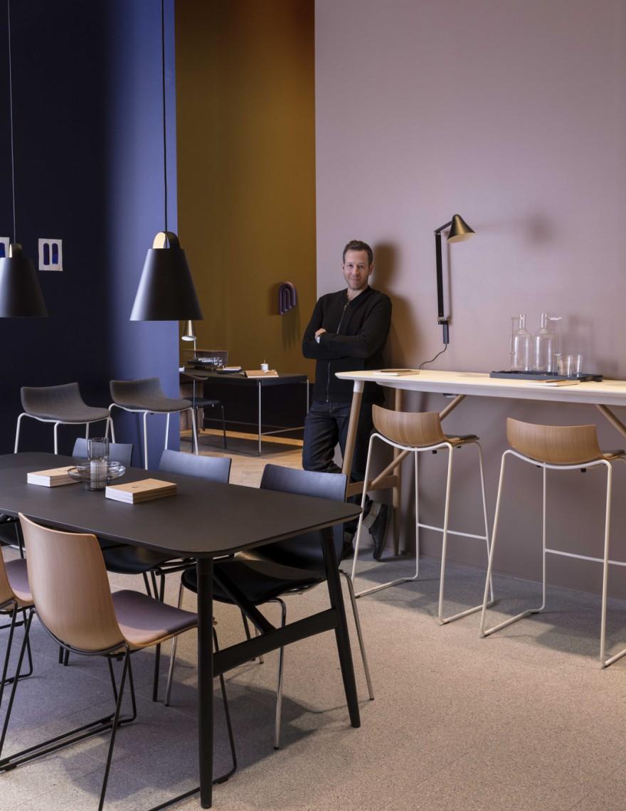 Portrait Brad Ascalon Stockholm Victors Design Agency