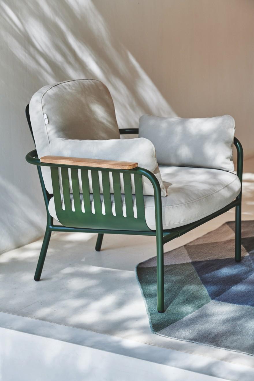 Vue latérale CAPA - couleur verte