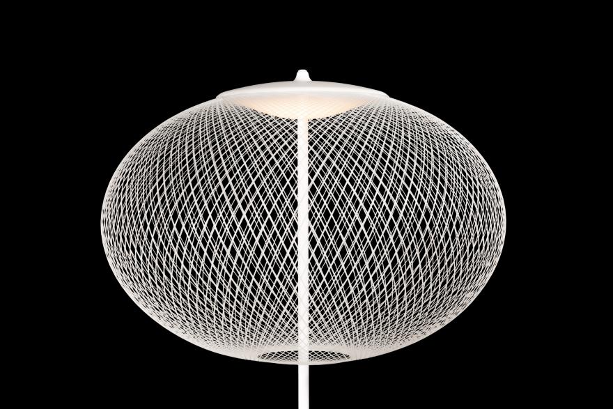 Detail NR2 vloerlamp, LED, Moooi collectie